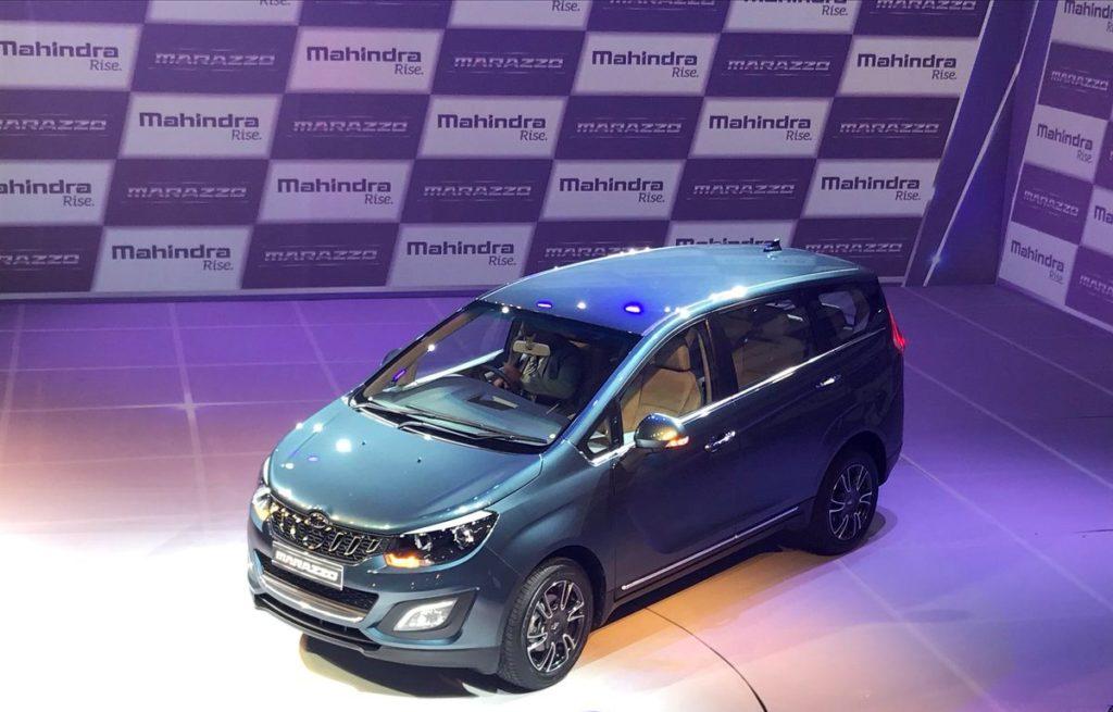 Mahindra Marazzo launched in India