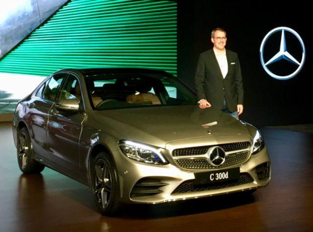 2018 Mercedes-Benz C-Class facelift