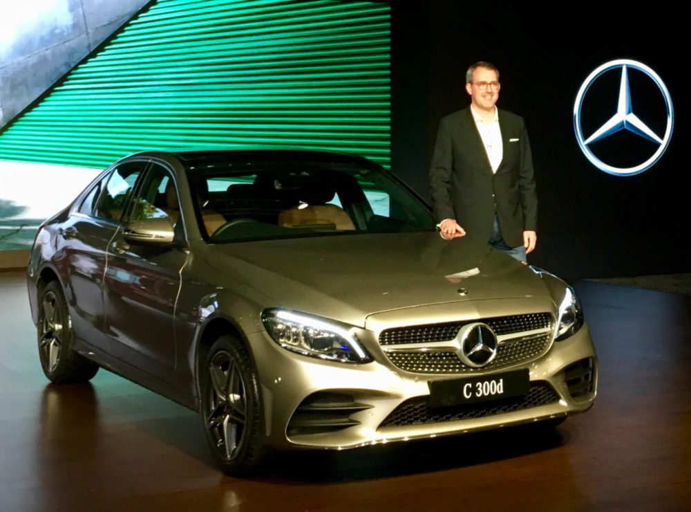 2018 Mercedes Benz C Class Facelift Launches In India At Rs 40 Lakh