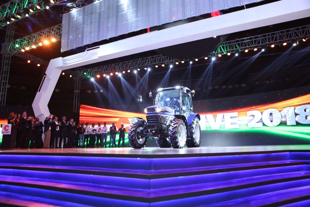 India's first automated tractor