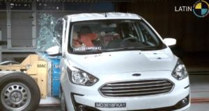 Ford Figo Facelift Crash test