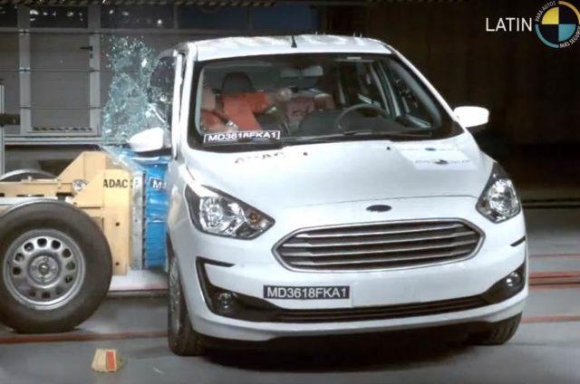 Ford Figo Facelift Crash test