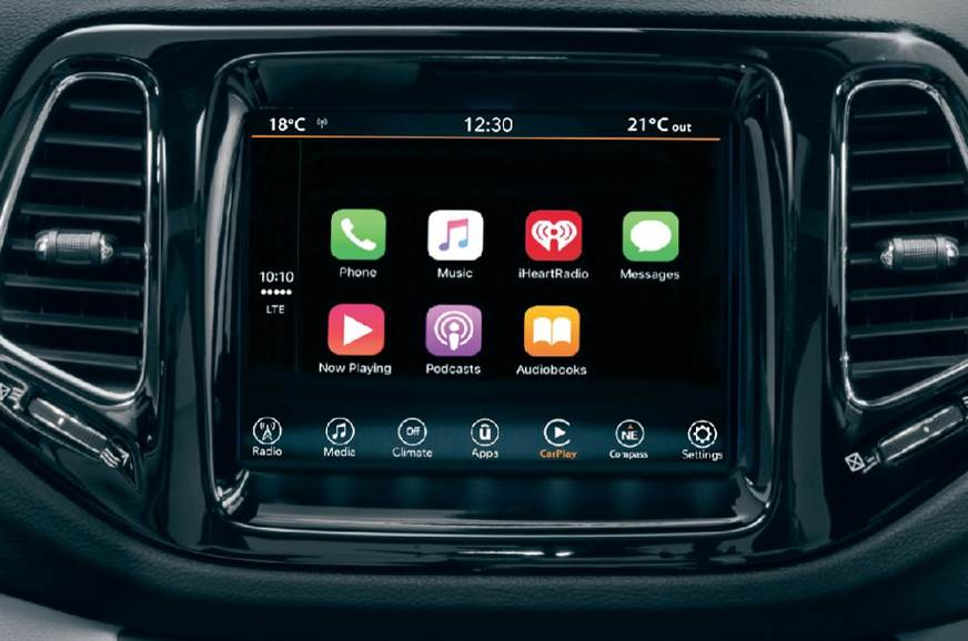 Jeep Compass Limited Plus Infotainment