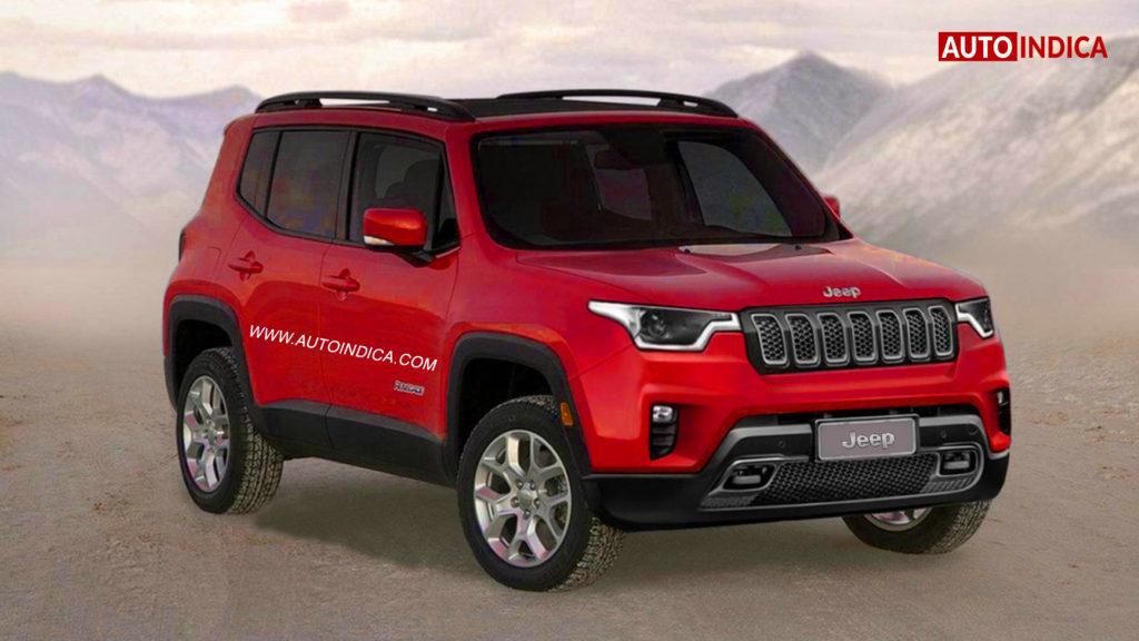 Jeep Vitara Brezza Rival Small Suv To Arrive In 2020 Autoindica
