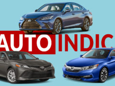 Lexus ES 300h vs Toyota Camry vs Honda Accord