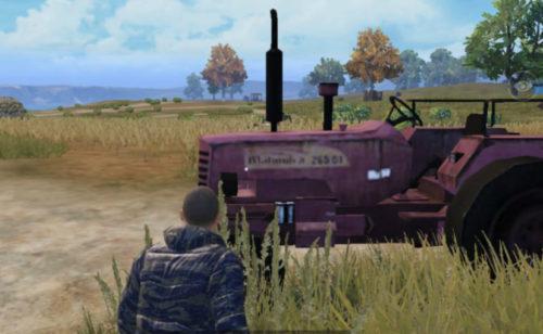 PUBG's Mahindra Tractor