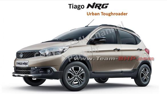 Tata Tiago NRG crossover