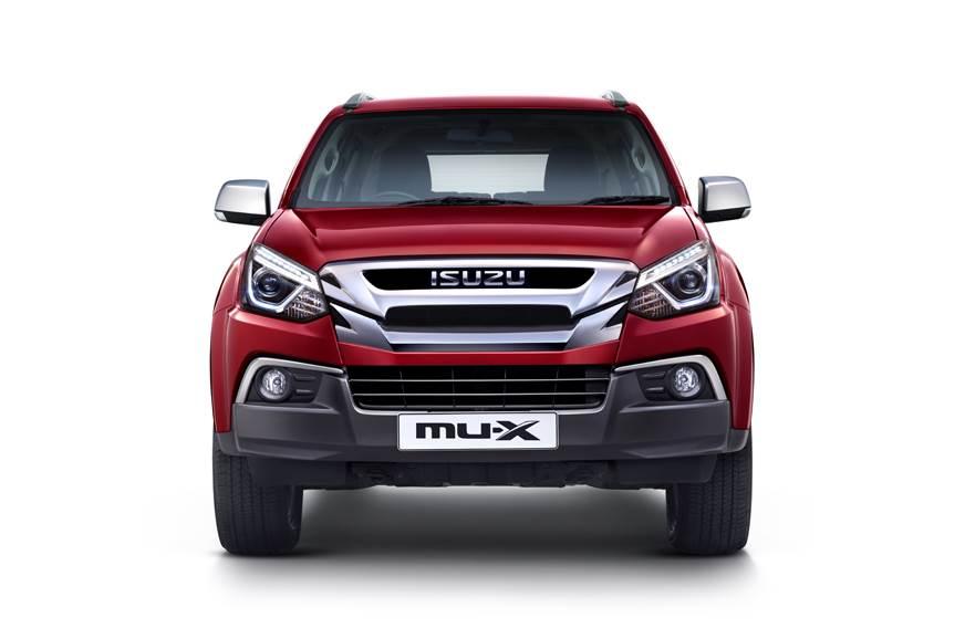 2018 Isuzu MU-X facelift