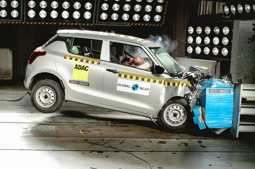 Maruti Suzuki Swift crash test