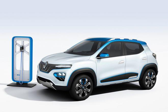 Renault Kwid EV K-ZE Concept (1)