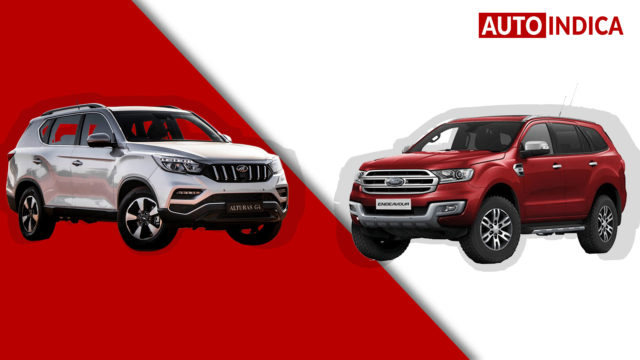 Mahindra Alturas G4 vs Ford Endeavour comparison (2)