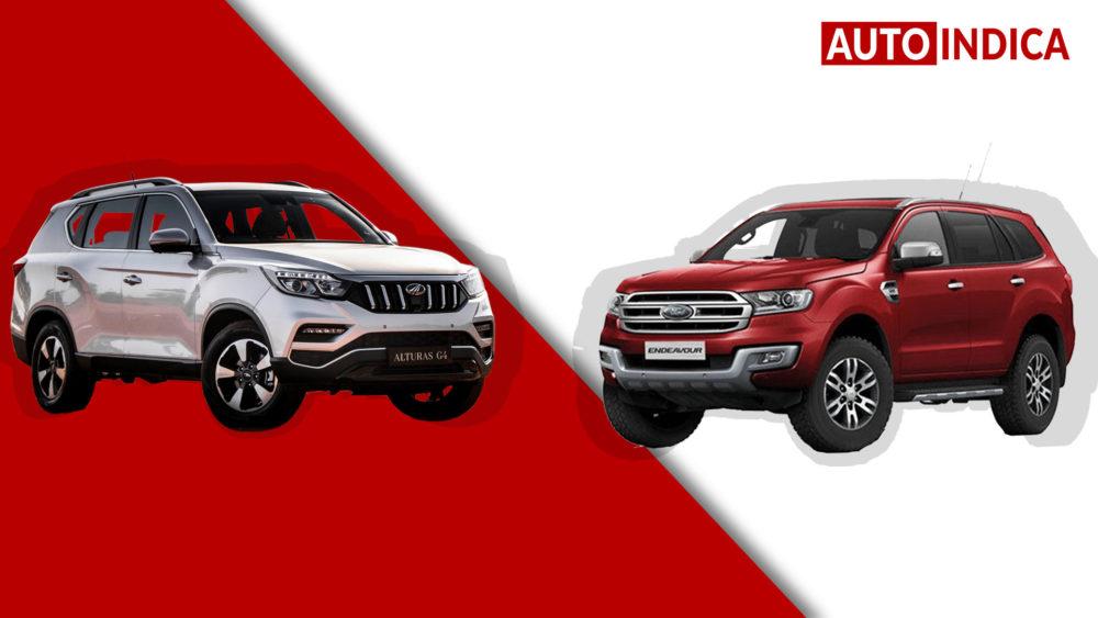 Mahindra Alturas G4 vs Ford Endeavour comparison (2)