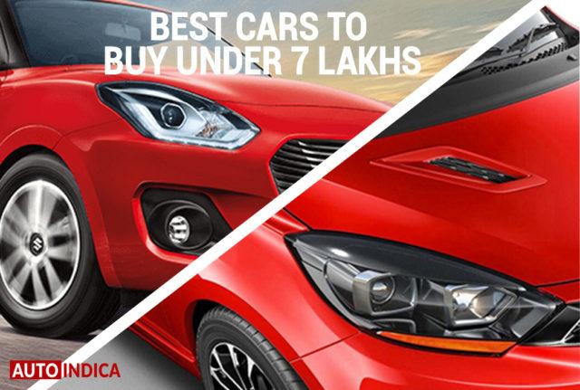 Best cars under 7 lakhs