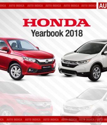 Honda Yearbook 2018