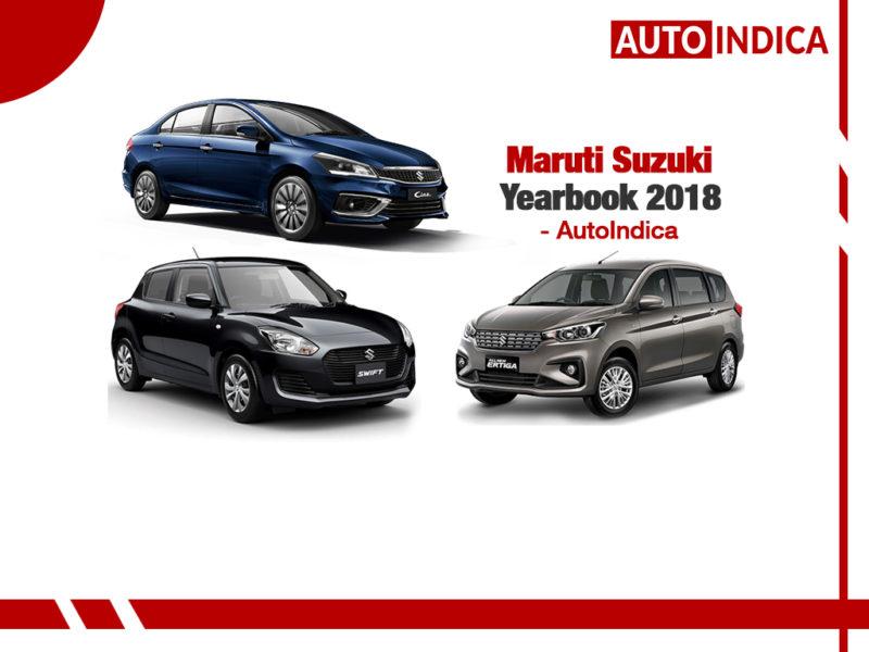 Maruti Suzuki Yearbook 2018