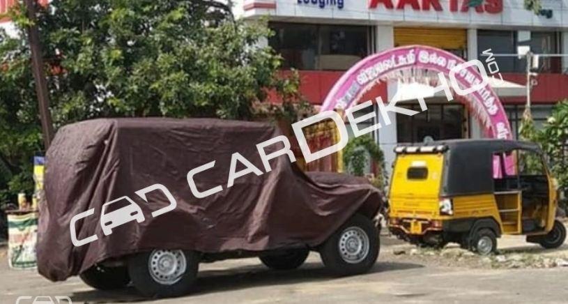 Next-gen Mahindra Thar