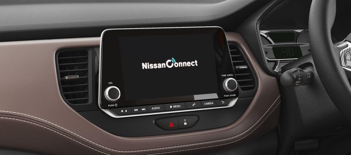 Nissan Kicks infotainment