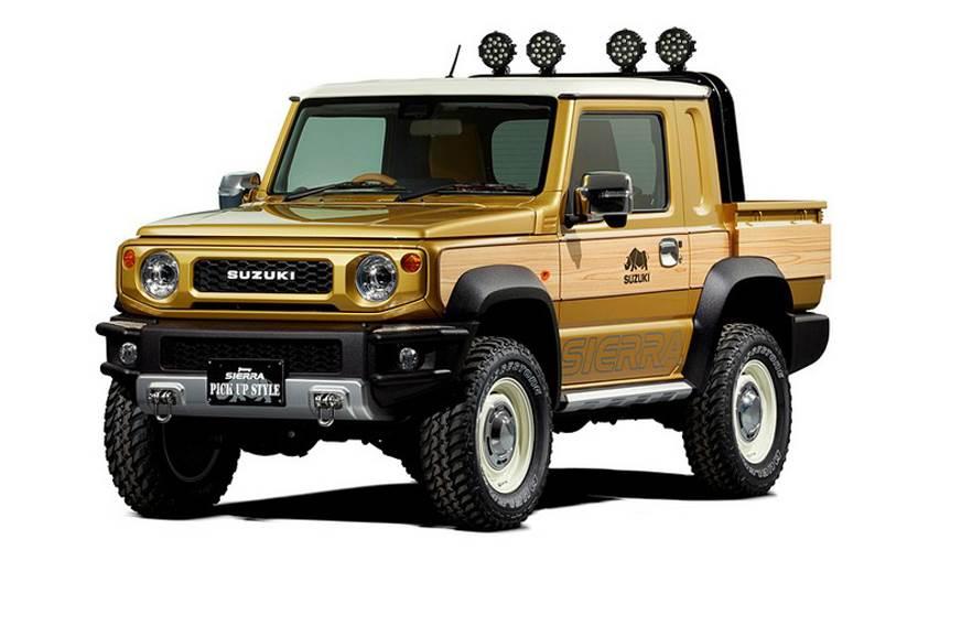 Suzuki Jimny Pickup Concept Looks Drool Worthy Autoindica Com