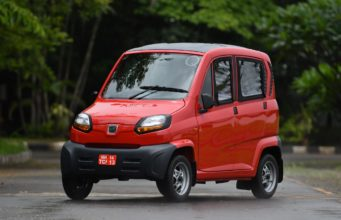 Bajaj Qute electric