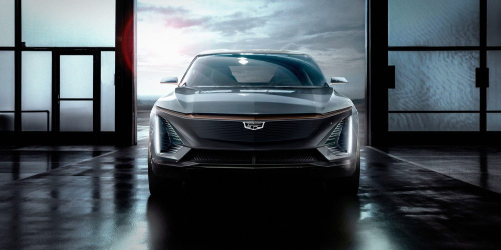 Cadillac electric SUV concept