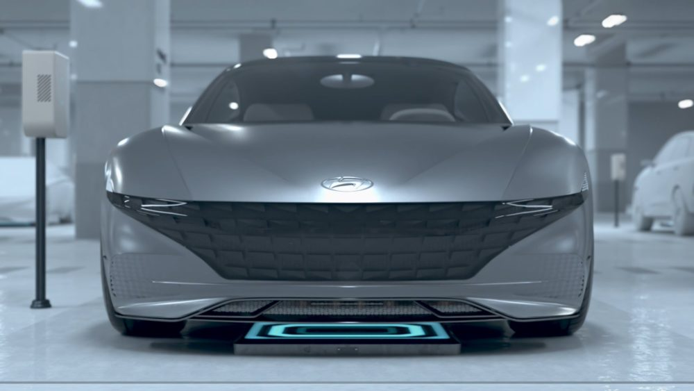 Hyundai Electric Vehicle Autonomous Valet Parking and Charging
