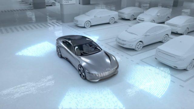 Hyundai Electric Vehicle Autonomous Valet Parking and Charging