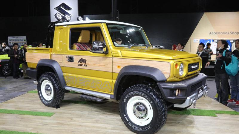 2019 Suzuki Jimny: News, Design, Release >> New Suzuki Jimny Steals Show At Tokyo Auto Salon With A Pickup Concept