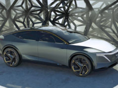 Nissan electric sedan concept IMs