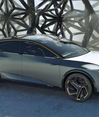 Nissan electric sedan concept IMs