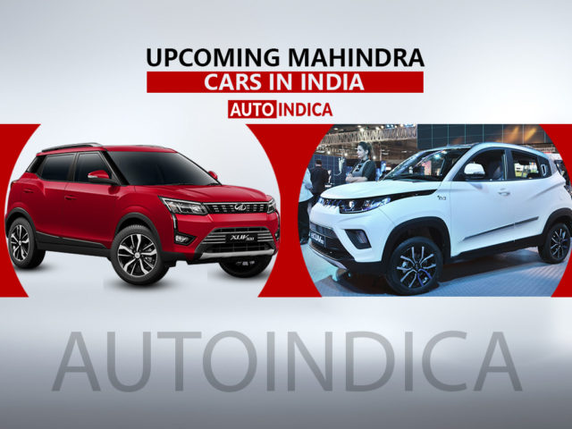 Upcoming Mahindra cars in India