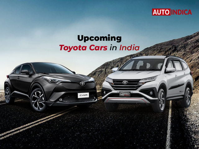 Upcoming Toyota cars in India