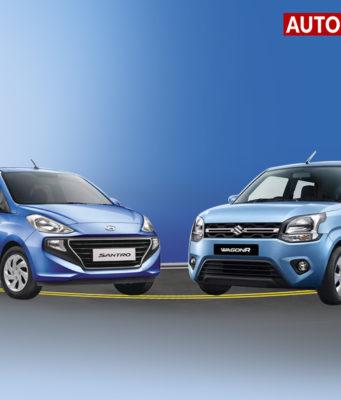 Maruti WagonR vs Hyundai Santro