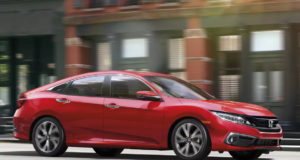 2019 Honda Civic Red