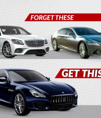 2019 Maserati Quattroporte vs rivals