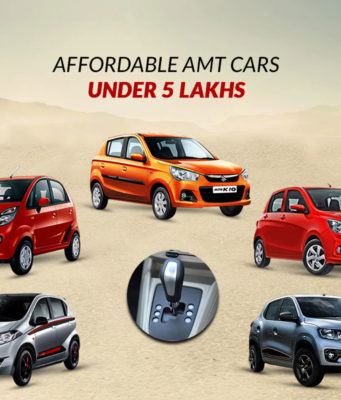 Affordable AMT cars under 5 lakhs
