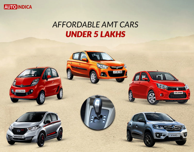 Affordable Amt Cars Under 5 Lakhs Autoindica Com