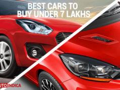 best cars under 7 lakh