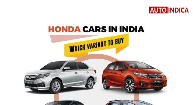 Honda cars in India