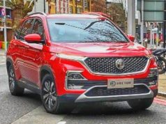 MG Hector looks similar to Chevrolet Captiva