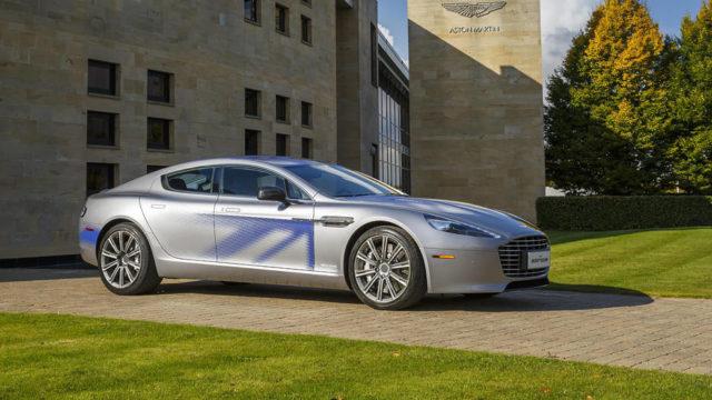 Aston Martin Rapide E Bond Car