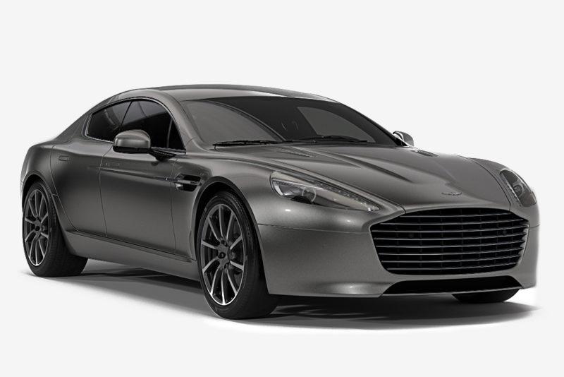 Aston Martin Rapide E Bond Car Grey