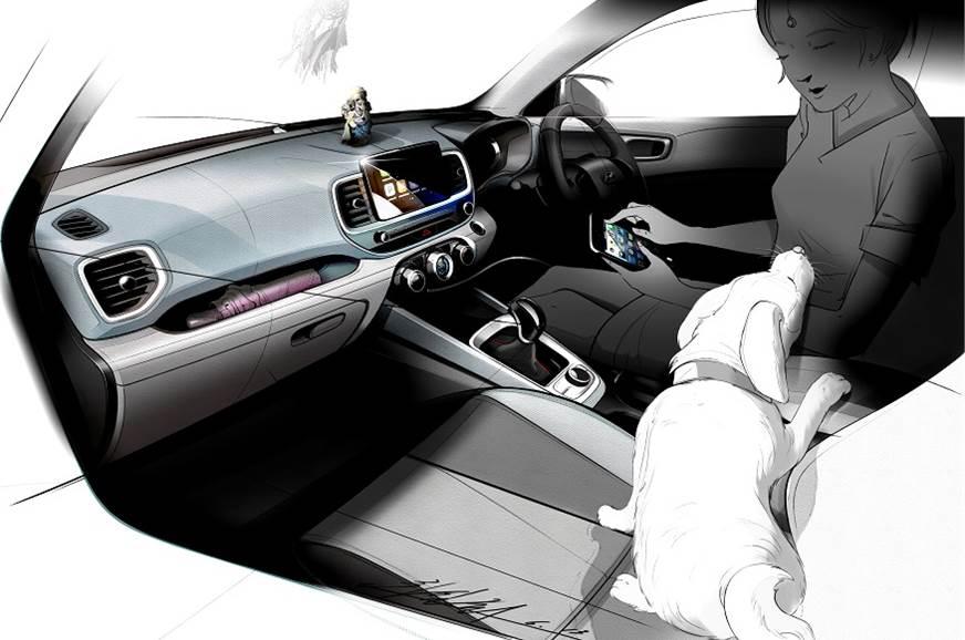 Hyundai BlueLink enabled Venue SUV (1)
