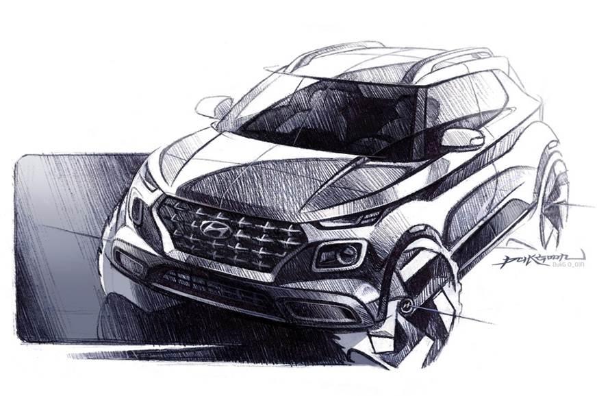 Hyundai BlueLink enabled Venue SUV (2)