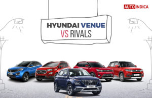 Hyundai Venue vs rivals - AutoIndica