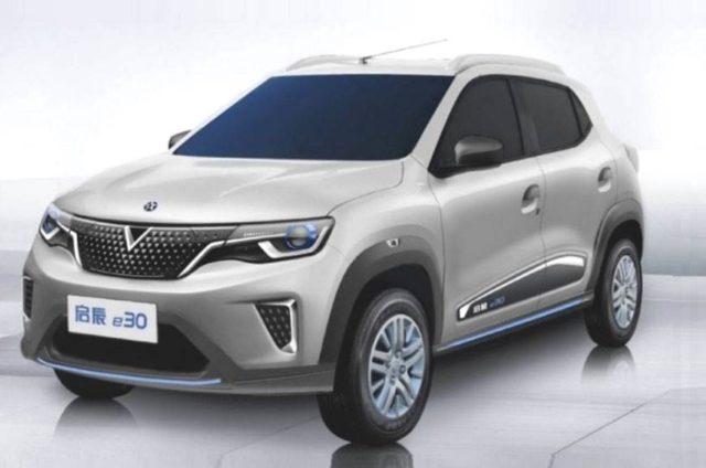 Renault Kwid EV based Dongfeng Venucia E30 - AutoIndica