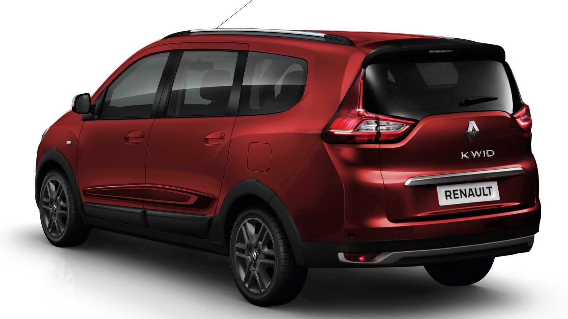 Renault Triber Render