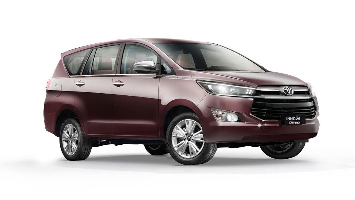 Toyota Innova Crysta - Toyota Cars in India
