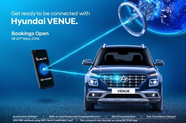 Hyundai Venue Booking AutoIndica