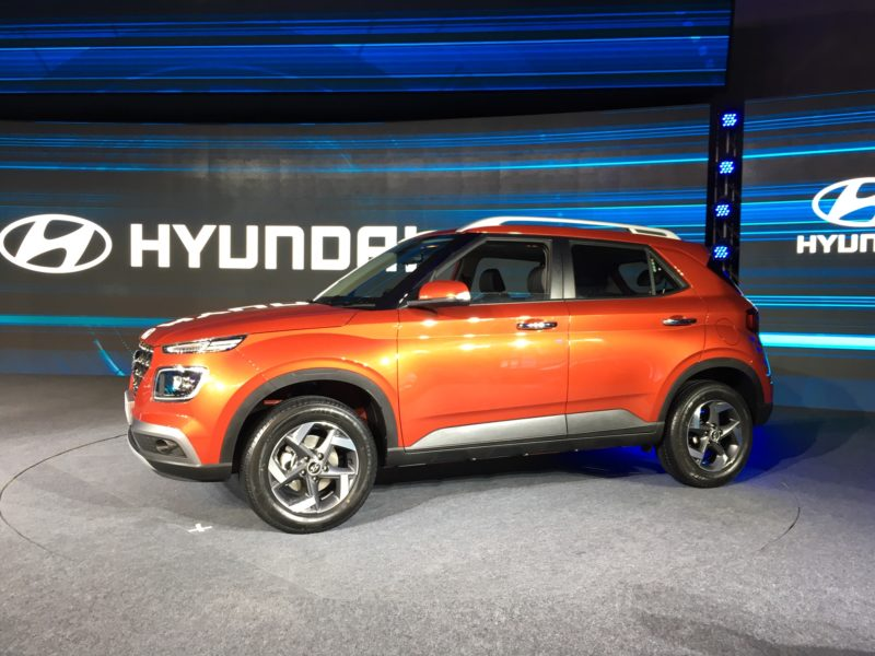 Hyundai Venue Connected Suv Launched At Eye Popping Price Autoindica