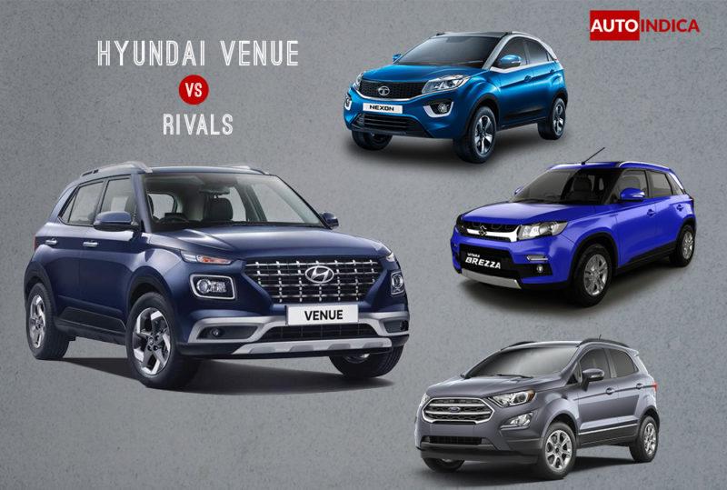 Hyundai Venue vs rivals
